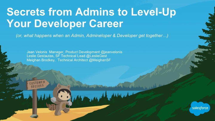 Secrets from Admins to Level-Up Your Developer Career